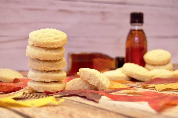 Maple Butter Cookies.