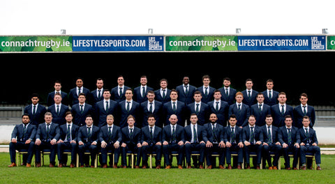 Connacht Rubgy team photo | Free Irish Shipping | logues shoes since 1921