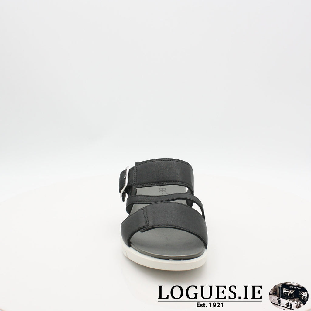 00744 LEGERO S19LadiesLogues ShoesBLACK / 5 UK- 38 EU- 7 US