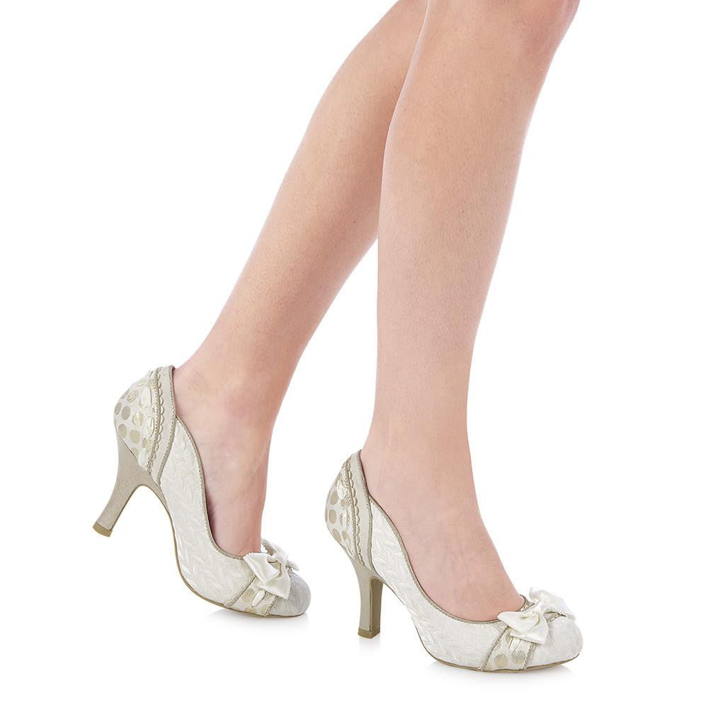 AMY 09085 RUBY SHOO-Ladies-RUBY SHOO-CREAM-36 = 3 UK-Logues Shoes