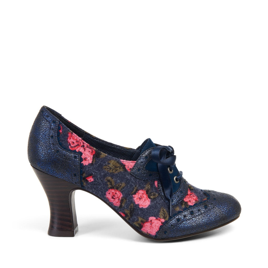 DAISY 09128 RUBY SHOO AW17LadiesLogues ShoesBLUE / 37 = 4 UK