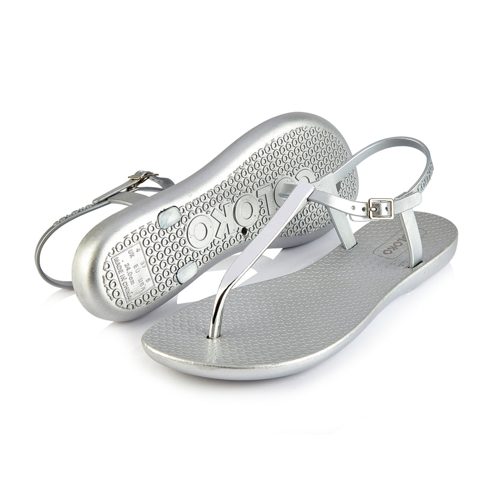 SAKURALadiesLogues ShoesSILVER / 8 UK - 42 EU -10 US