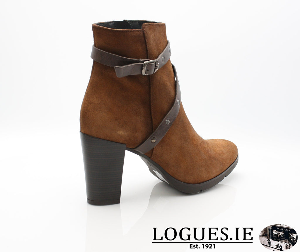 1046 Leana T AW18LadiesLogues ShoesPONCHO MOKA / 41 = 7/8 UK