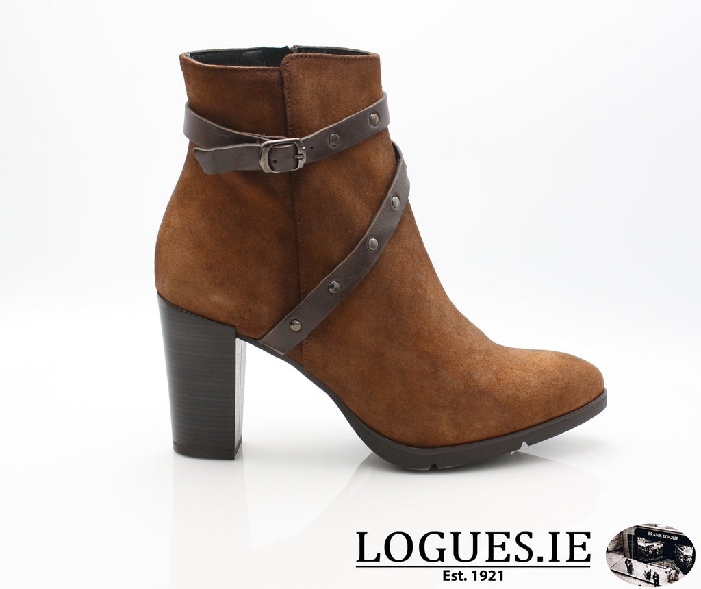 1046 Leana T AW18LadiesLogues ShoesPONCHO MOKA / 36 = 3 UK