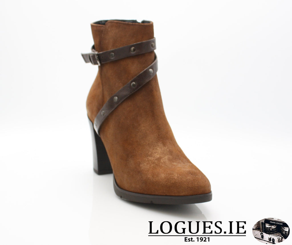 1046 Leana T AW18LadiesLogues ShoesPONCHO MOKA / 37 = 4 UK
