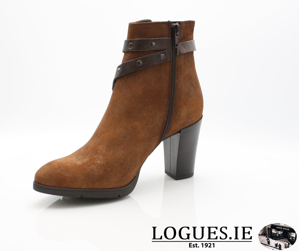 1046 Leana T AW18LadiesLogues ShoesPONCHO MOKA / 38 = 5UK