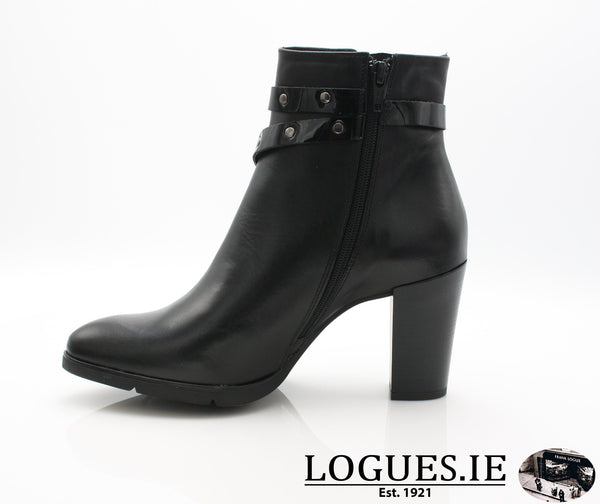 1046 Leana T AW18LadiesLogues ShoesPONCHO NEGRO / 39 = 6 UK