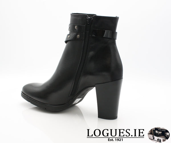 1046 Leana T AW18LadiesLogues ShoesPONCHO NEGRO / 40 = 6.5/7 UK