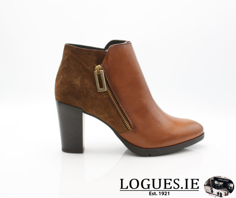 1048 Leana T AW18LadiesLogues ShoesPoncho Brandy / 36 = 3 UK