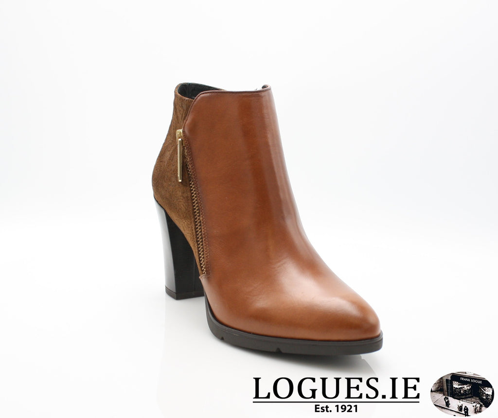 1048 Leana T AW18LadiesLogues ShoesPoncho Brandy / 37 = 4 UK