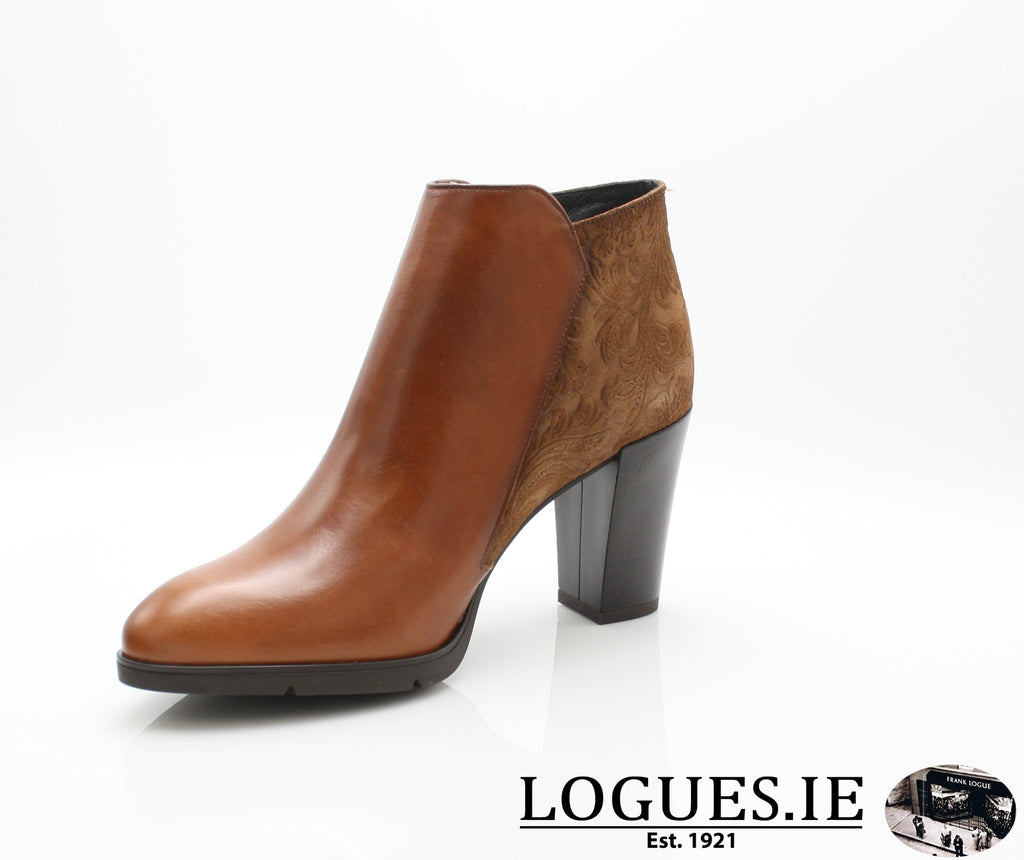 1048 Leana T AW18LadiesLogues ShoesPoncho Brandy / 38 = 5UK