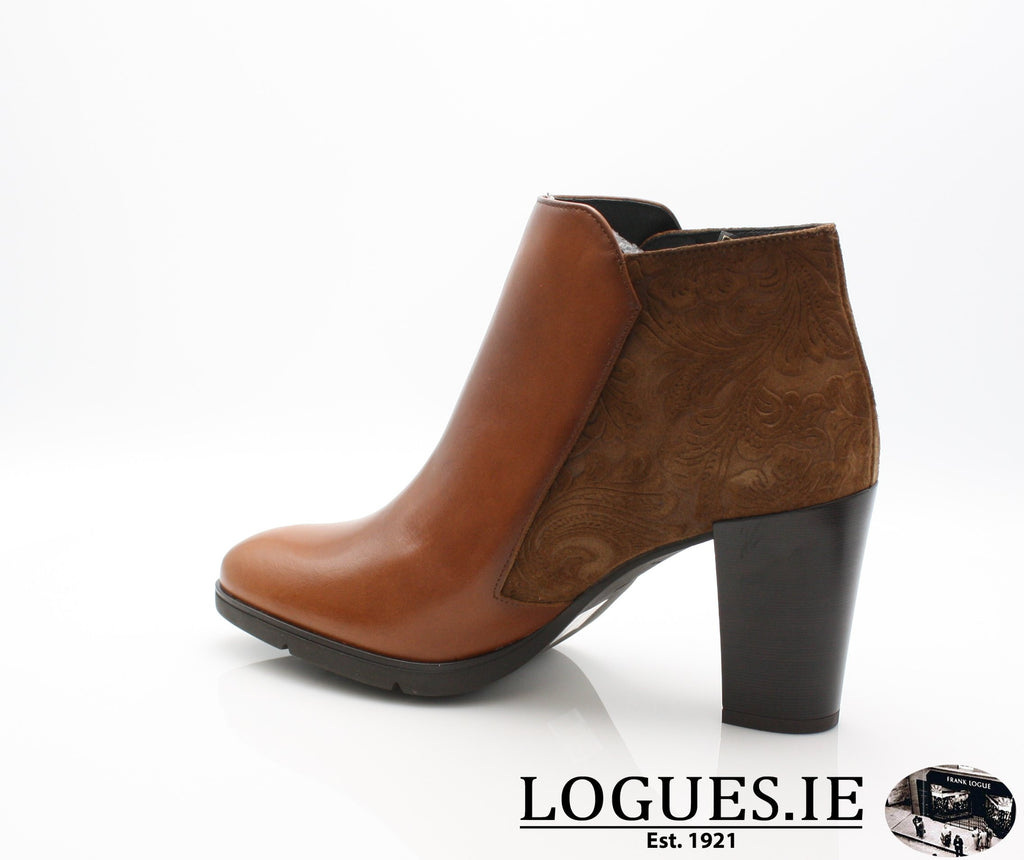 1048 Leana T AW18LadiesLogues ShoesPoncho Brandy / 39 = 6 UK