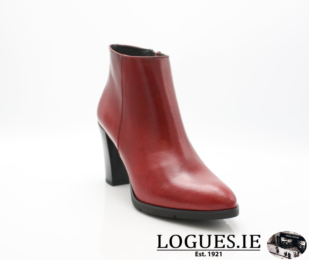 1050 Leana T AW18LadiesLogues ShoesPoncho Rojo / 37 = 4 UK