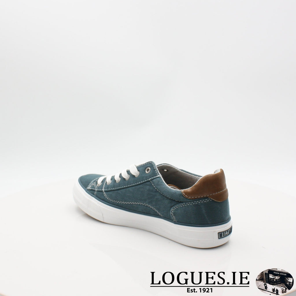 1272306 MUSTANG S19LadiesLogues ShoesPETROL / 6 UK- 39 EU - 8 US