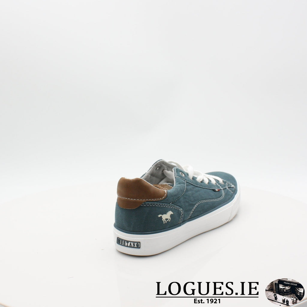 1272306 MUSTANG S19LadiesLogues ShoesPETROL / 7 UK- 41 EU - 9 US