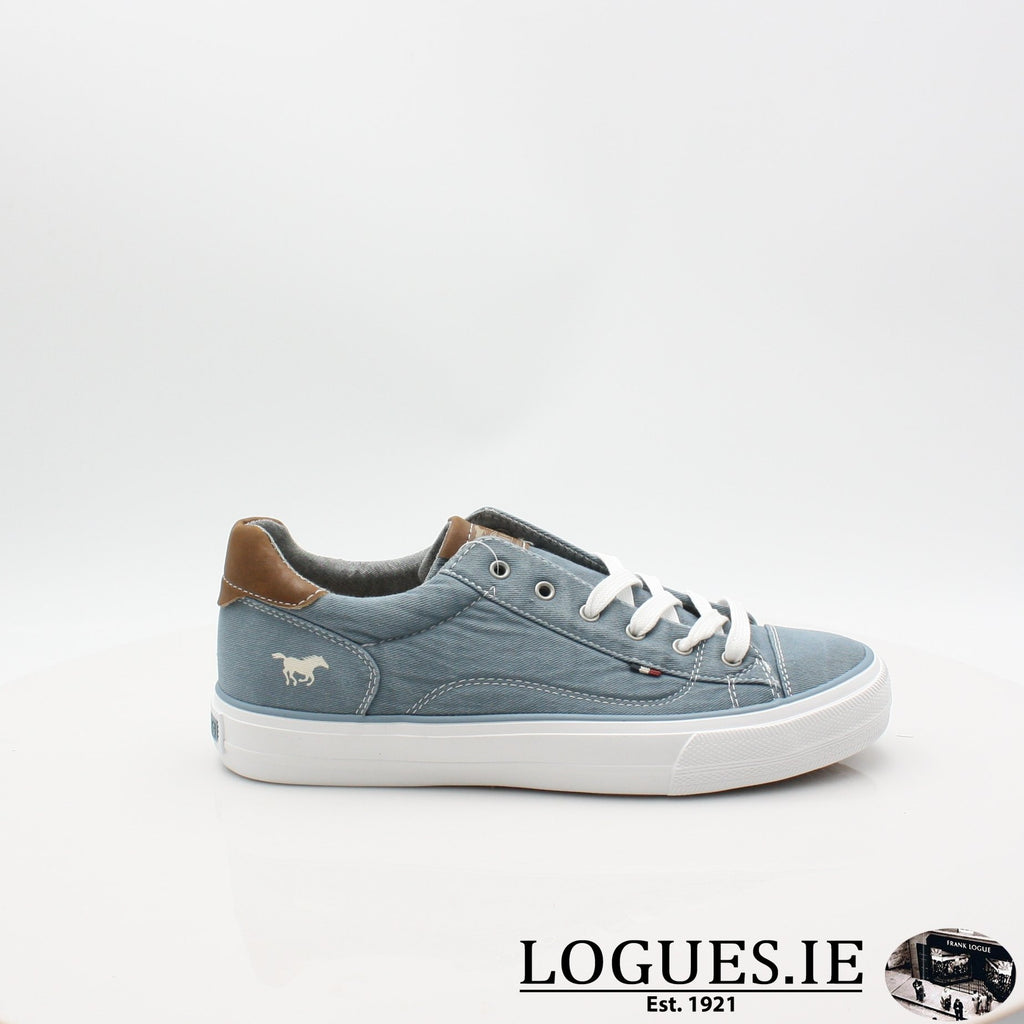 1272306 MUSTANG S19LadiesLogues ShoesSKY / 4 UK -37 EU - 6 US