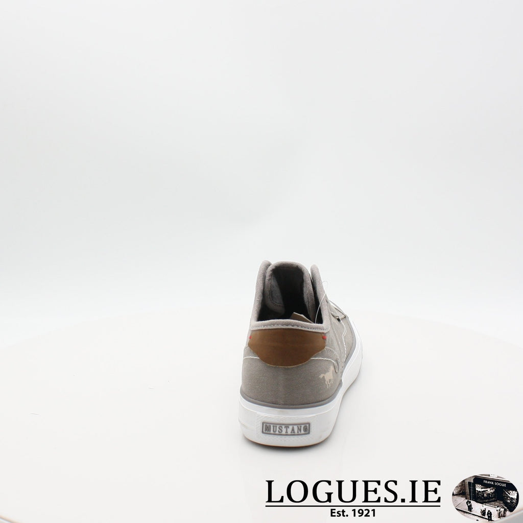1272401 MUSTANG S19LadiesLogues ShoesGRAV / 7 UK- 41 EU - 9 US