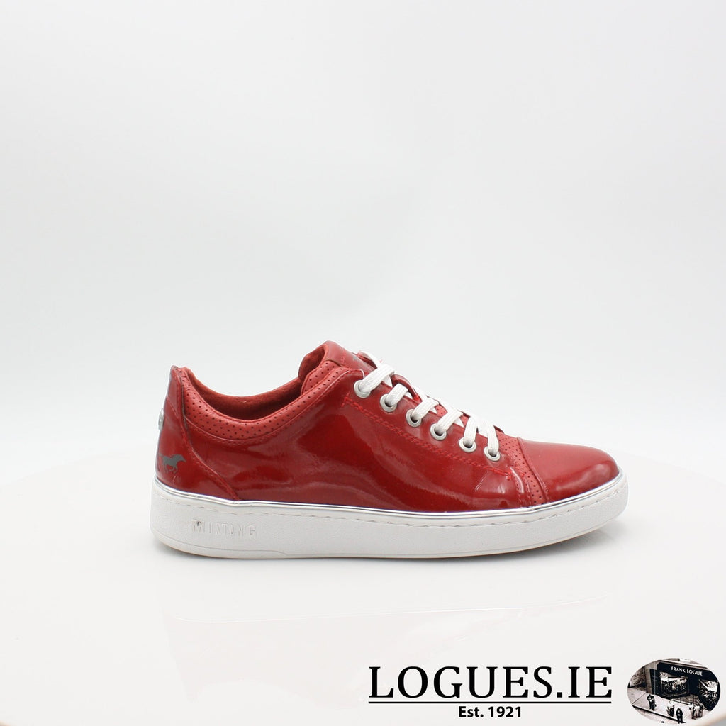 1300301 MUSTANG S19LadiesLogues ShoesRED / 4 UK -37 EU - 6 US