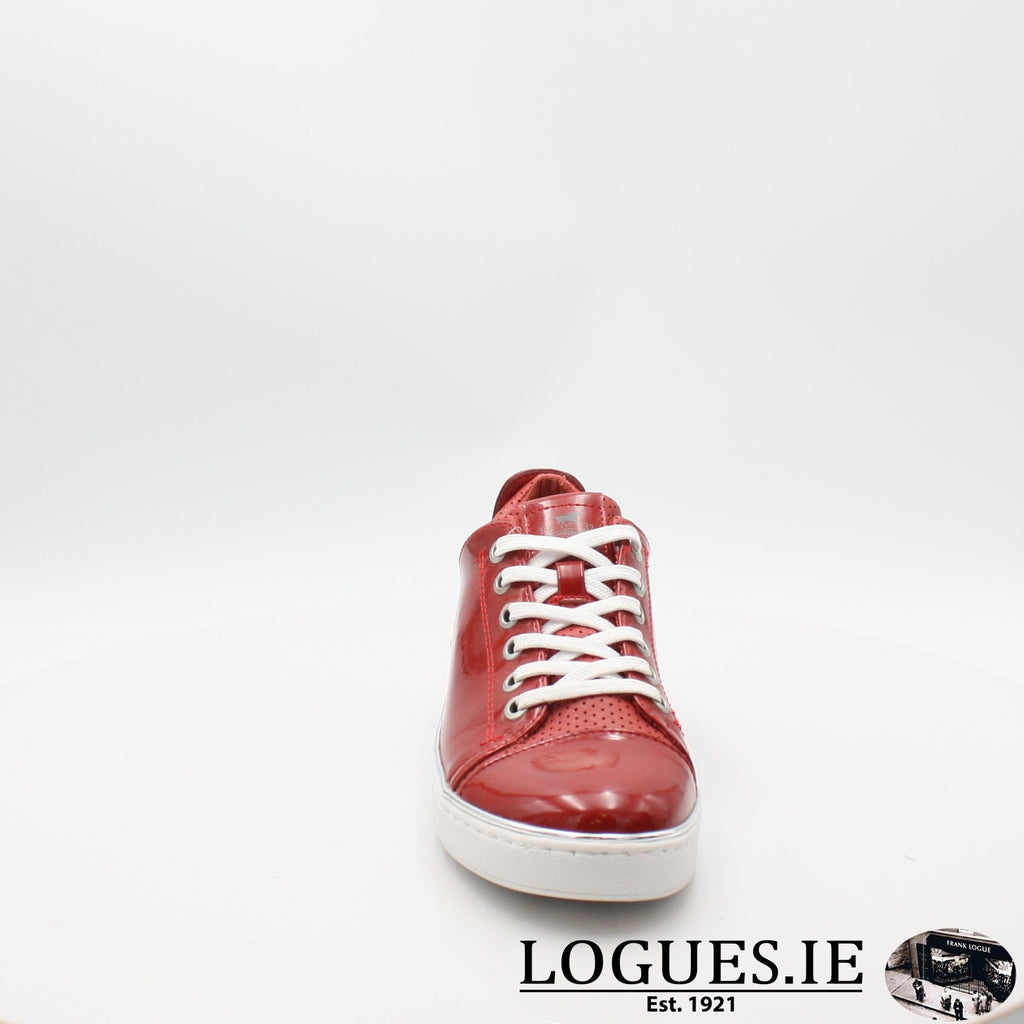 1300301 MUSTANG S19LadiesLogues ShoesRED / 5 UK- 38 EU- 7 US