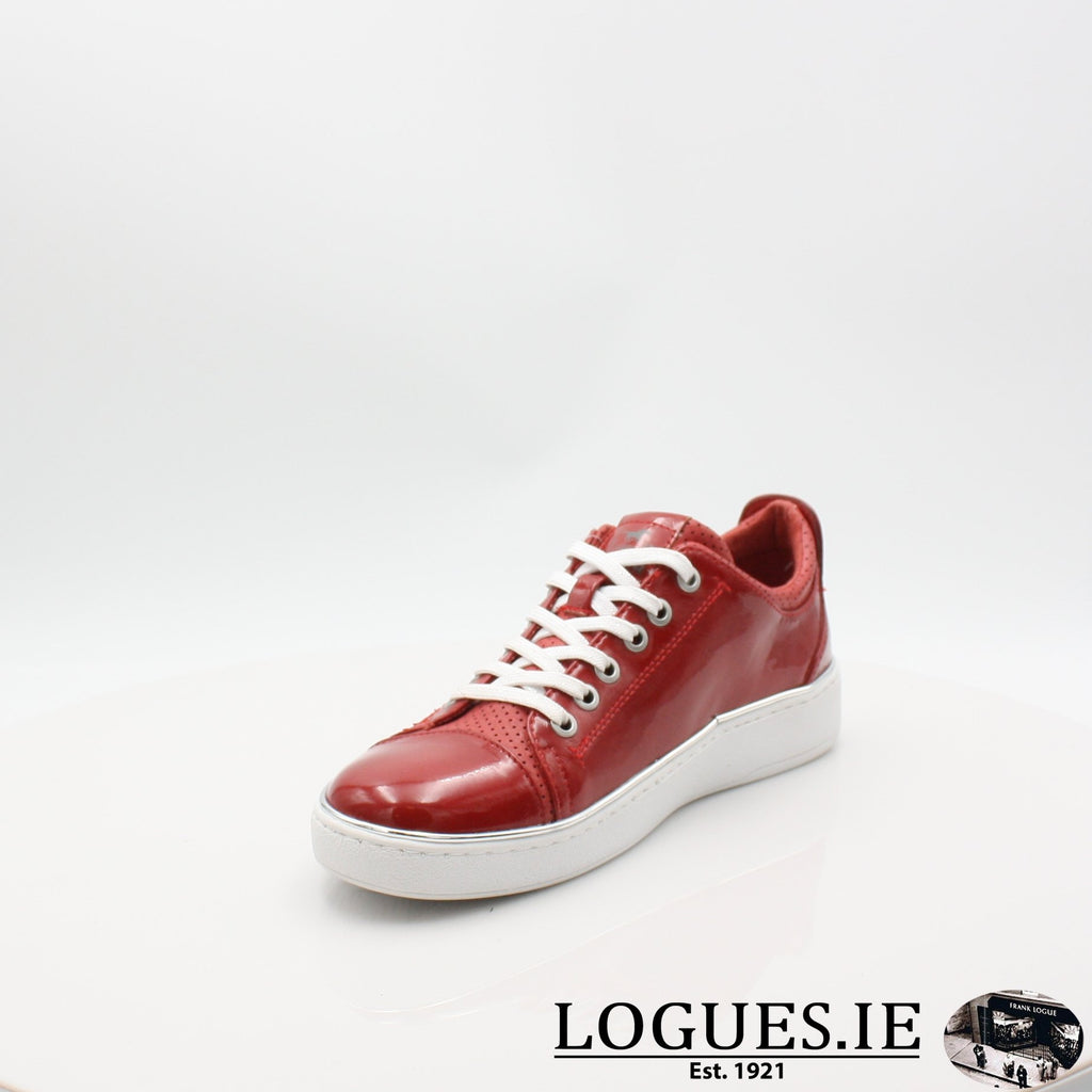 1300301 MUSTANG S19LadiesLogues ShoesRED / 5.5 UK - 38.5/39 EU - 7.5 US