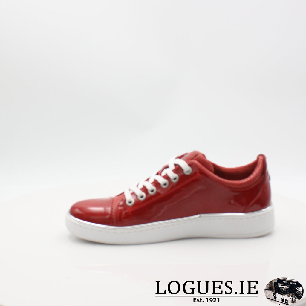 1300301 MUSTANG S19LadiesLogues ShoesRED / 6 UK- 39 EU - 8 US