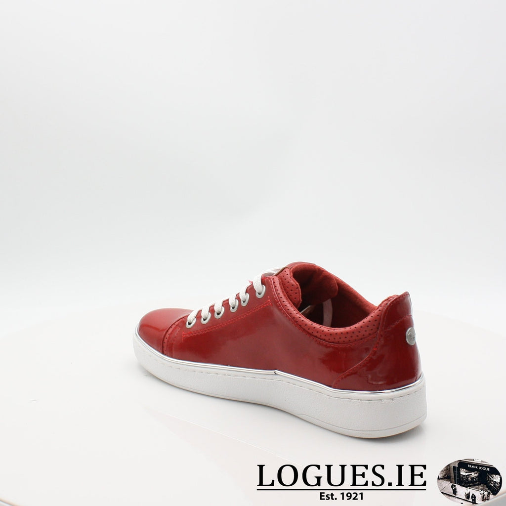 1300301 MUSTANG S19LadiesLogues ShoesRED / 6.5 UK - 40 EU -8.5 US