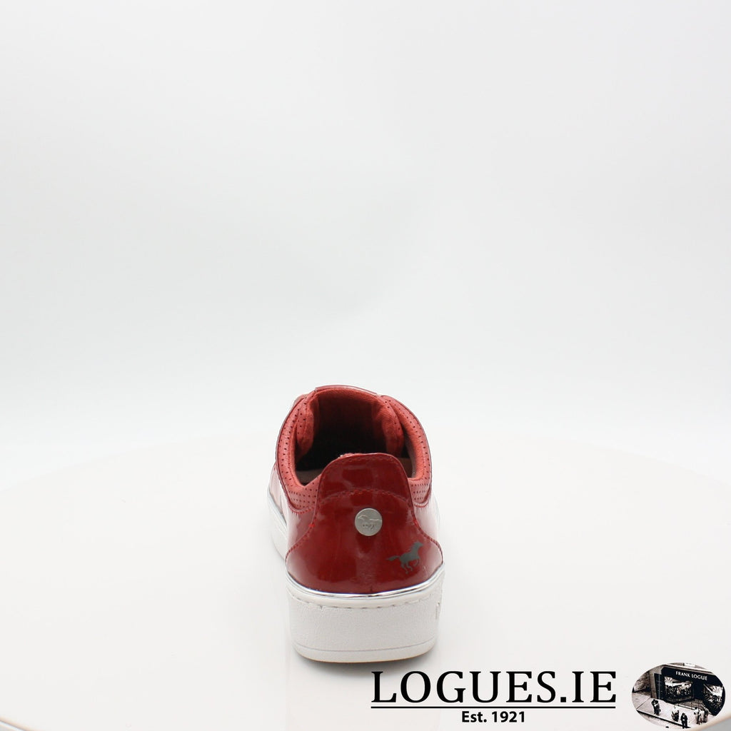 1300301 MUSTANG S19LadiesLogues ShoesRED / 7 UK- 41 EU - 9 US