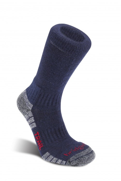 WOOL FUSHION TRAIL-Socks-jack murphy outdoor ltd-NAVY GREY-s-Logues Shoes