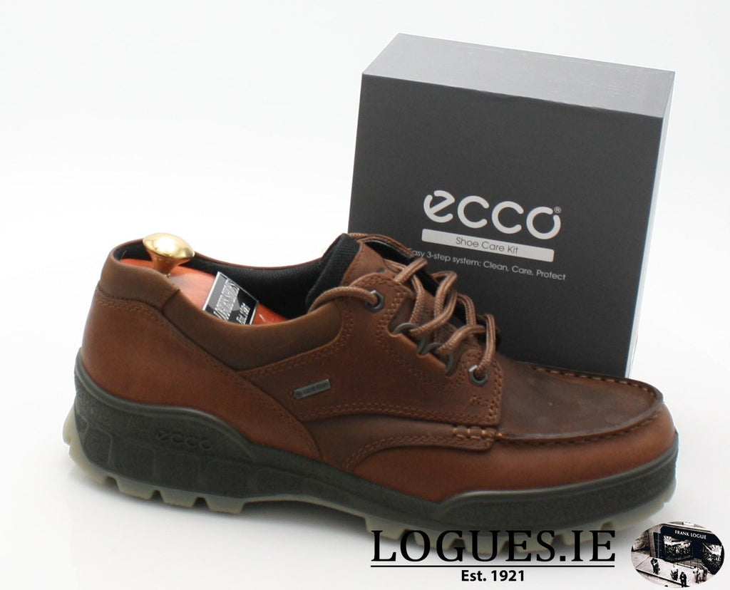 1944 ECCO SHOES TRACKMensLogues Shoes00741 BISON/BISON / 50=15 UK
