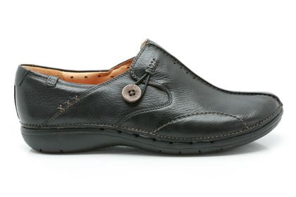 CLA UN LOOPLadiesLogues ShoesBlack Leather / 090 / D