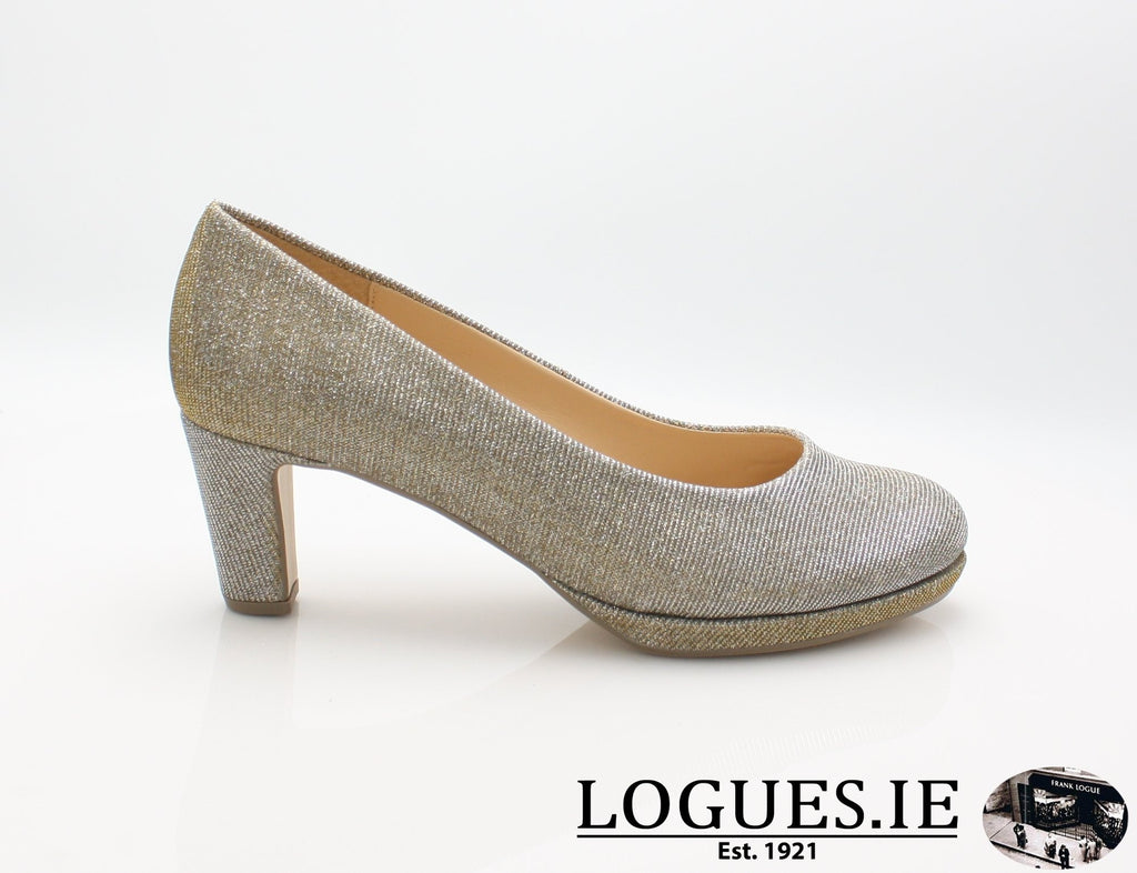 21.260 GABOR SS19LadiesLogues Shoes62 Platino / 4½