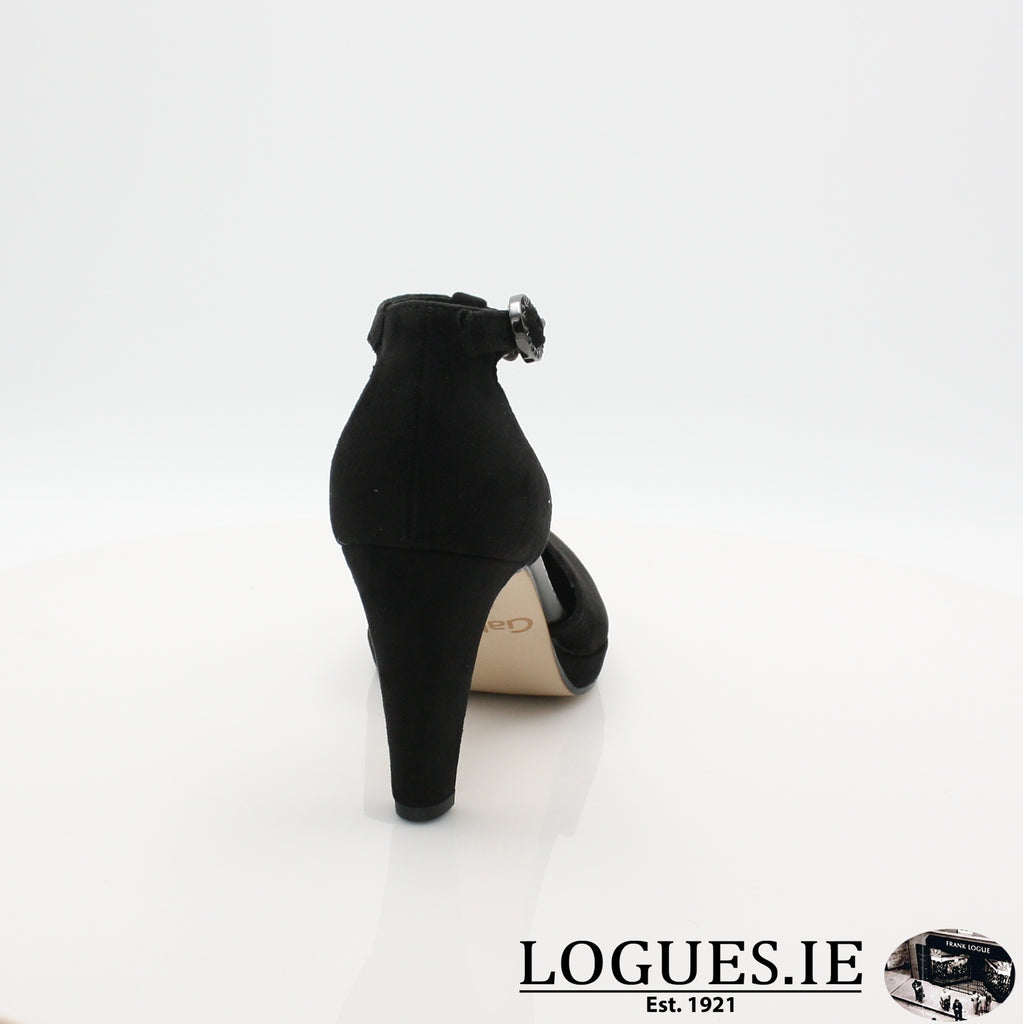 21.371 GABOR SS19LadiesLogues Shoes47 Schwarz / 7