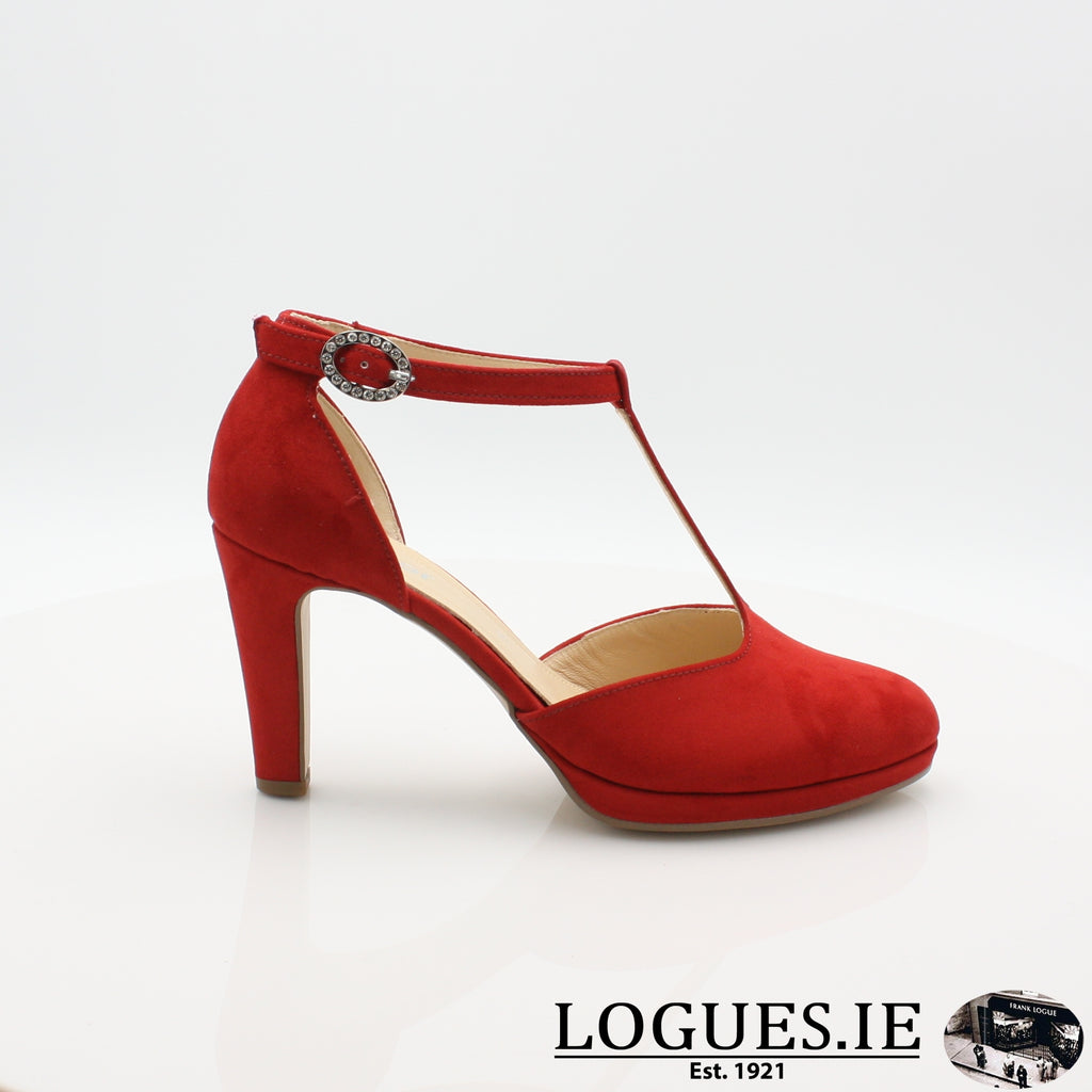 21.371 GABOR SS19LadiesLogues Shoes45 Cherry / 3½