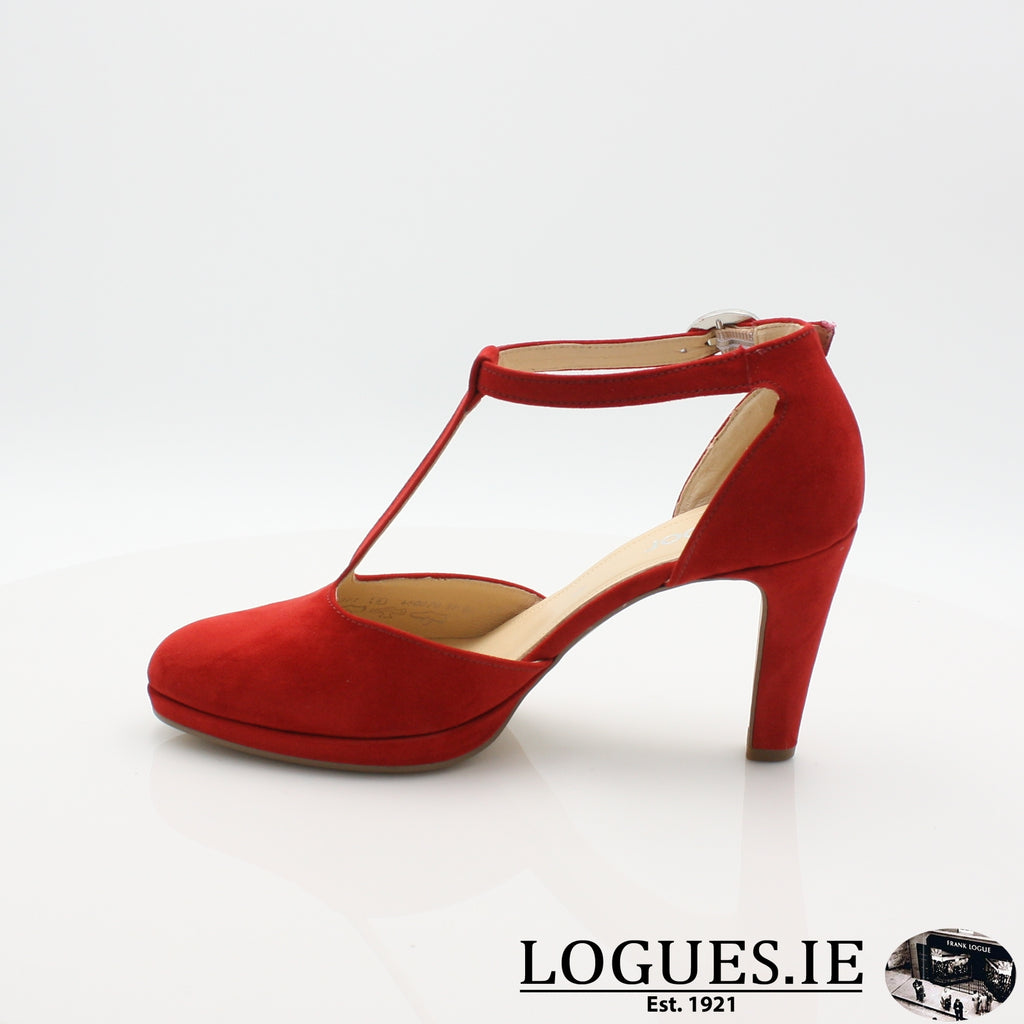 21.371 GABOR SS19LadiesLogues Shoes45 Cherry / 5½
