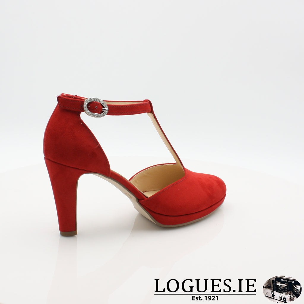 21.371 GABOR SS19LadiesLogues Shoes45 Cherry / 7
