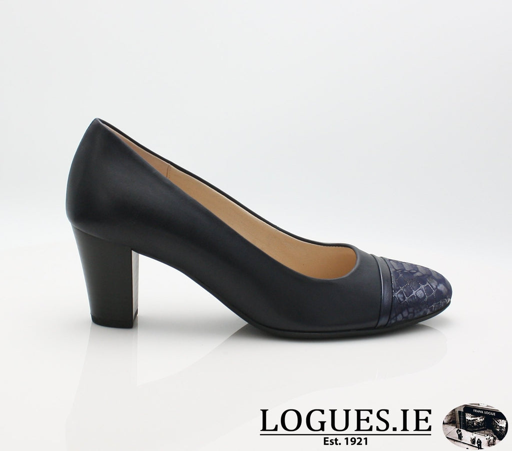 22.162 GABOR SS19LadiesLogues Shoes66 Midnight/Bluette / 7½