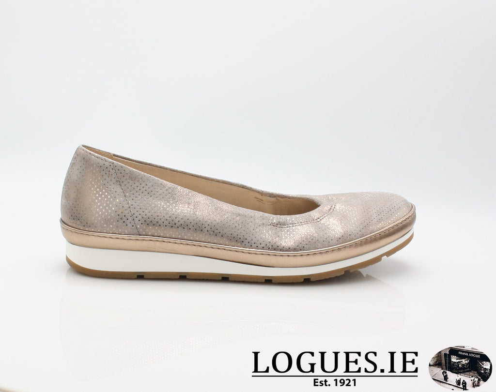 22.400  GABOR SS19LadiesLogues Shoes22 Rame (Luxor) / 6½