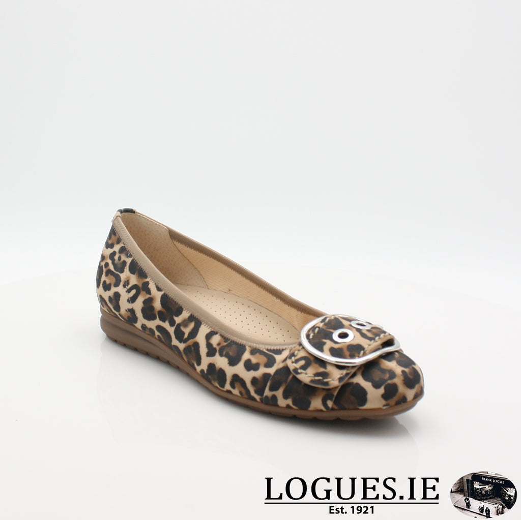 22.625 GABOR SS19LadiesLogues Shoes90 Natur / 3½