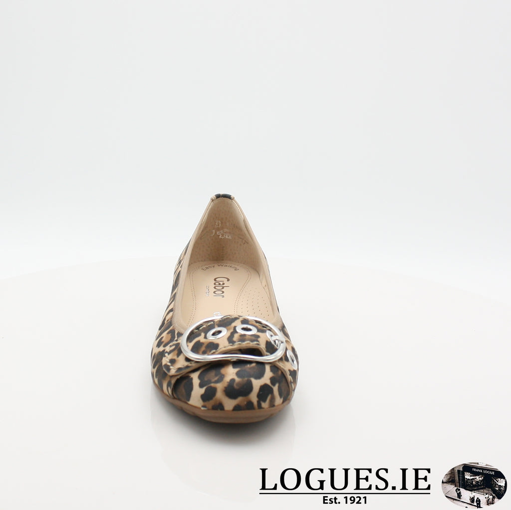 22.625 GABOR SS19LadiesLogues Shoes90 Natur / 4