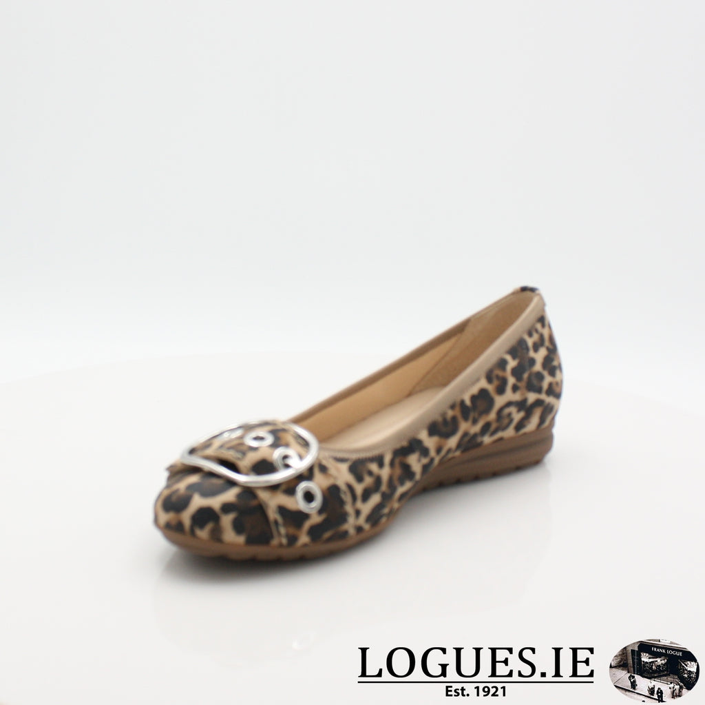 22.625 GABOR SS19LadiesLogues Shoes90 Natur / 4½