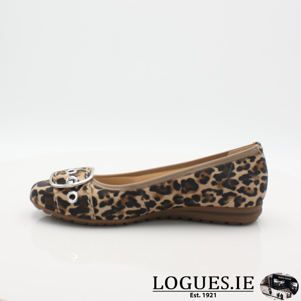 22.625 GABOR SS19LadiesLogues Shoes90 Natur / 5