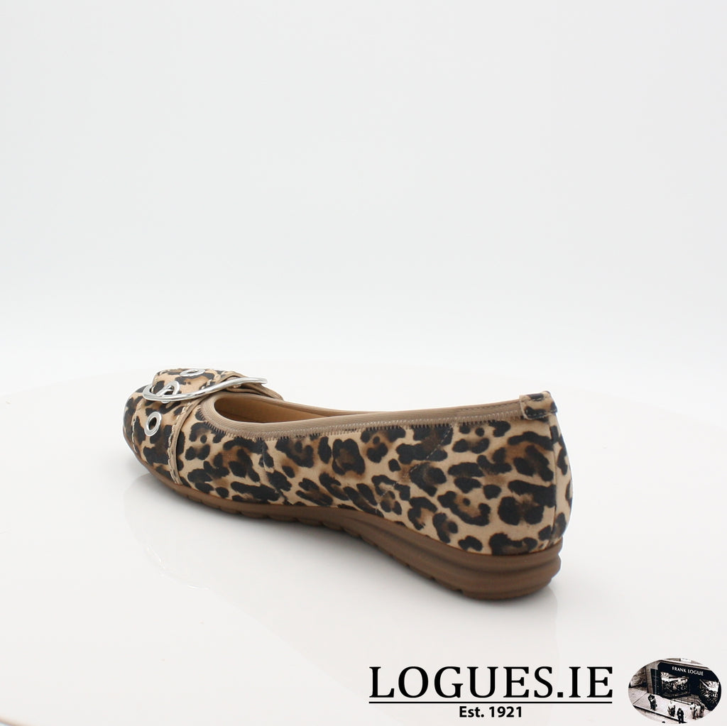 22.625 GABOR SS19LadiesLogues Shoes90 Natur / 5½