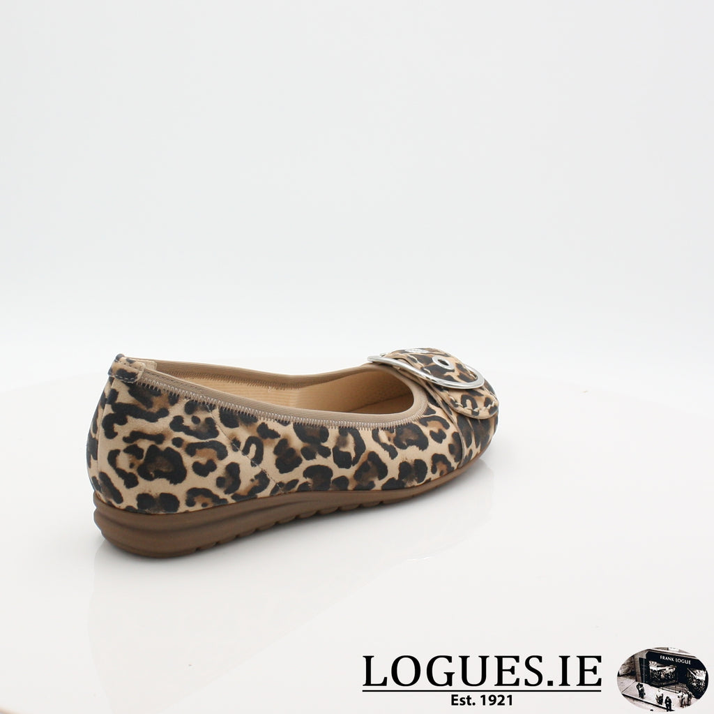 22.625 GABOR SS19LadiesLogues Shoes90 Natur / 6½
