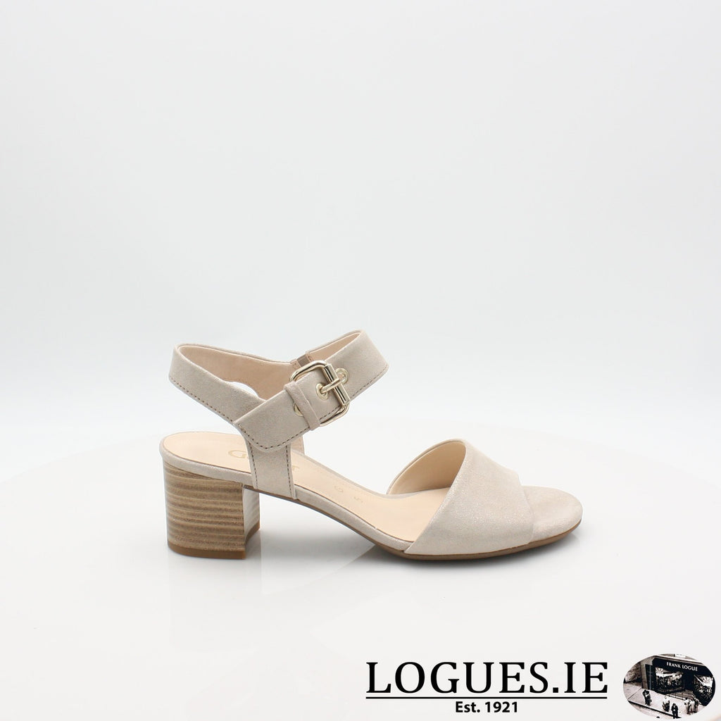 22.920 GABOR SS19LadiesLogues Shoes14 Muschel / 7½