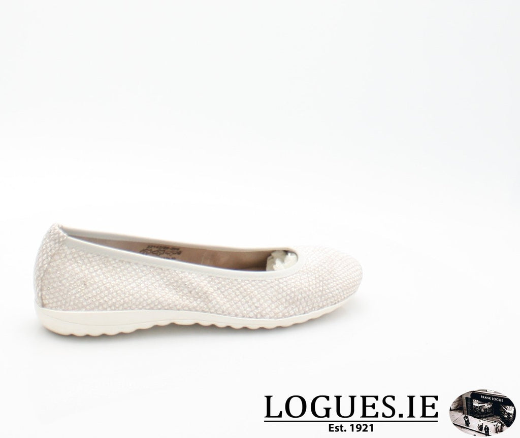 22142 CAPRICE SS18LadiesLogues Shoes206 LIGHT GREY / 43 = 9 UK