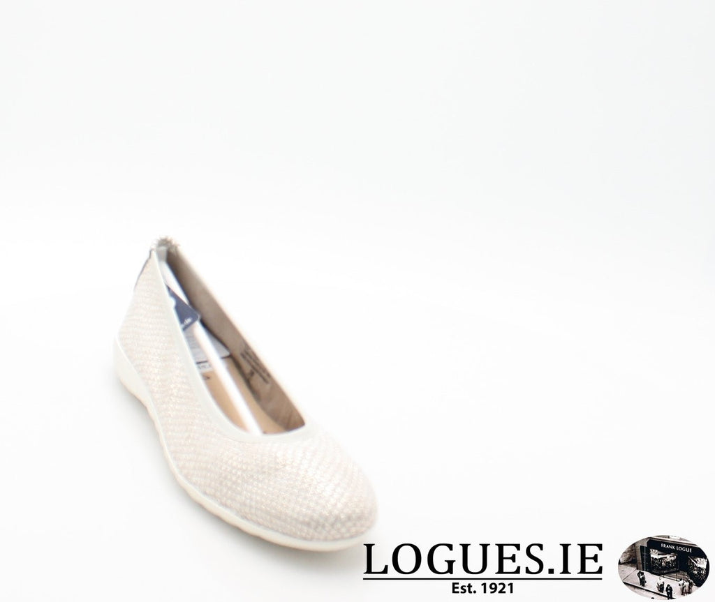 22142 CAPRICE SS18LadiesLogues Shoes206 LIGHT GREY / 37 = 4 UK