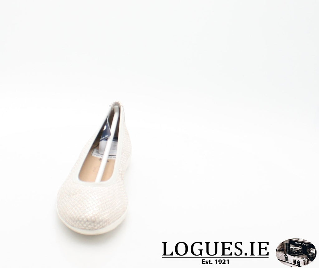 22142 CAPRICE SS18LadiesLogues Shoes206 LIGHT GREY / 38 = 5UK