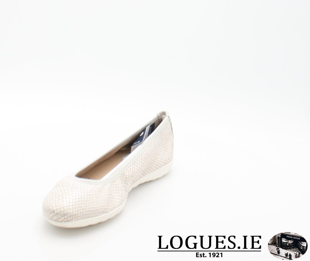 22142 CAPRICE SS18LadiesLogues Shoes206 LIGHT GREY / 39 = 6 UK