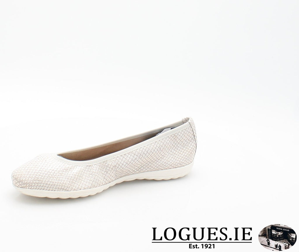22142 CAPRICE SS18LadiesLogues Shoes206 LIGHT GREY / 40 = 6.5/7 UK