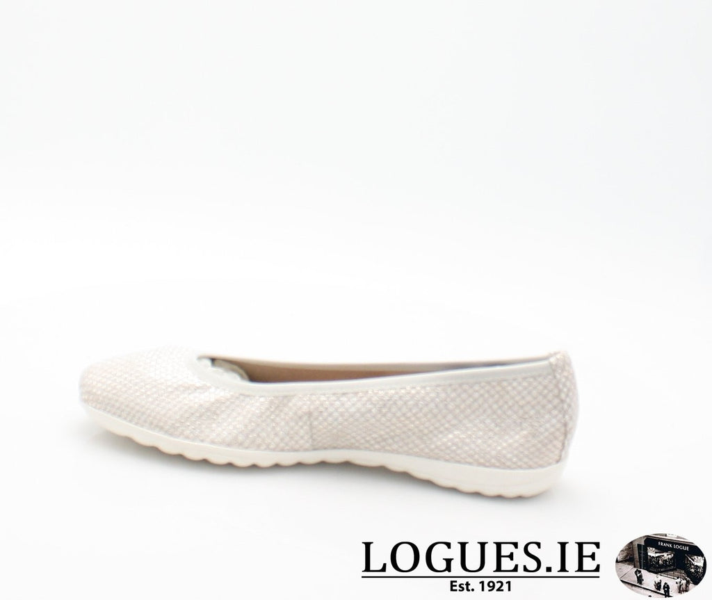 22142 CAPRICE SS18LadiesLogues Shoes206 LIGHT GREY / 41 = 7/8 UK